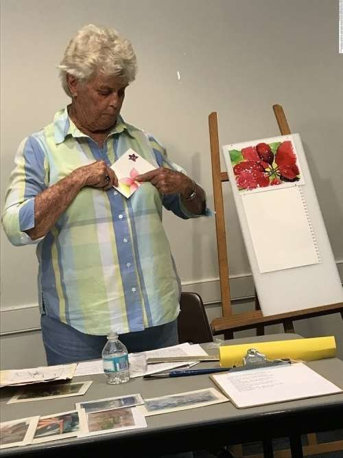 November Monthly Meeting and Art Demonstration
