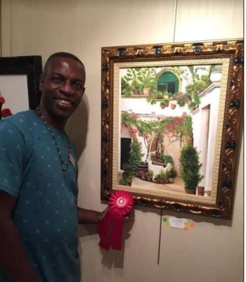 Kenneth Harris wins 2nd Place Casselberry Arthouse Everything Latin Exhibition