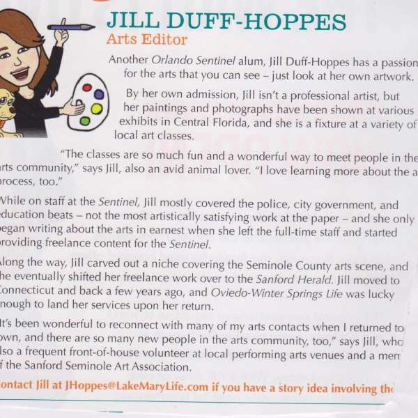 Jill Hoppes Article