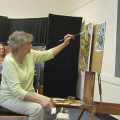 Cathy Chenet Oil Painting Demo