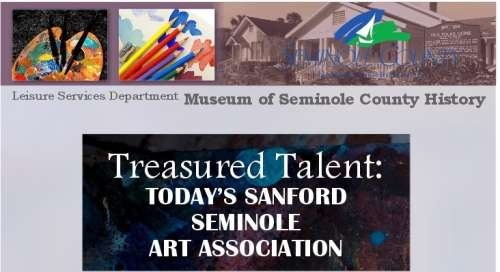 Museum of Seminole County History  SSAA Exhibit